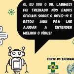 ufpb - Pesquisadores da UFPB criam robô virtual para tirar dúvidas da população sobre a Covid-19