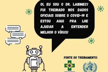 Pesquisadores da UFPB criam robô virtual para tirar dúvidas da população sobre a Covid-19