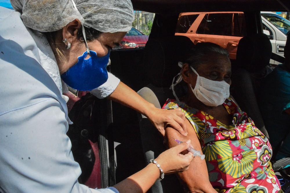 vacinação - Última fase da vacinação contra a gripe é antecipada para esta quarta-feira, em João Pessoa