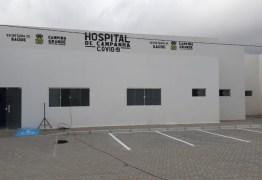 Hospital de campanha para pacientes com coronavírus é inaugurado em Campina Grande