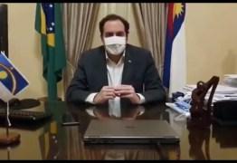 Governador de Pernambuco, Paulo Câmara, anuncia que está com a Covid-19