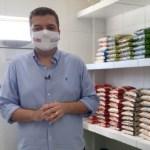 0032 - Diego Tavares anuncia inauguração da 6° cozinha comunitária na capital - VEJA VÍDEO