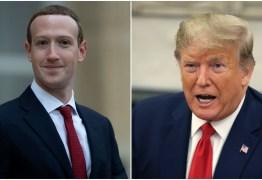 Facebook apaga propaganda de campanha de Trump alegando associação com símbolo nazista