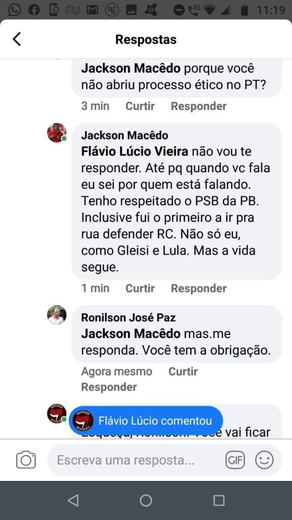 """33dce5c4 838f 410e 834a c700bee534a5 576x1024 - Professor Flávio Lúcio Vieira critica nome de Anísio Maia para a PMJP: Atitude vergonhosa e sabuja, G11 é o """"centrão"""" da Paraíba"""