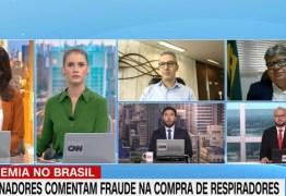 Em entrevista a CNN, João alega ausência do Governo Federal no inicio da pandemia: 'deixou governos e municípios à própria sorte'