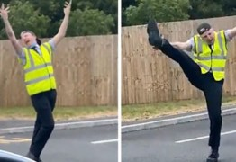 Homem inova no drive-thru e viraliza dançando Gaga e Ariana