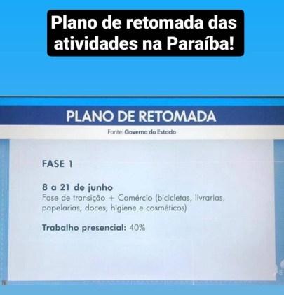 83afd5f3 551f 410c 94f7 667bdadcceb3 288x300 - Confira as etapas do plano de retomada econômica na Paraíba