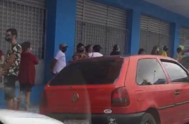 Capturark - Após mini lockdown, fisioterapeuta denuncia grande aglomeração de pessoas no centro de Campina Grande - VEJA VÍDEO