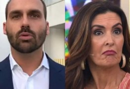 Eduardo Bolsonaro ataca Fátima Bernardes: 'Incentiva masturbação na pandemia'