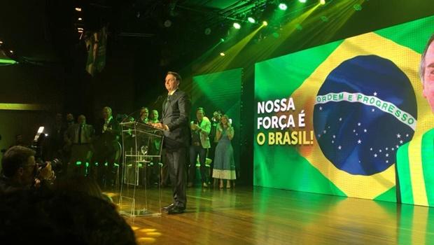 Jair Bolsonaro Lançamento Aliança pelo Brasil Foto Reprodução Youtube - Partido de Bolsonaro luta para ser regularizado enquanto membros são alvo de operações da PF