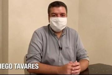 Diego Tavares se despede de secretaria e fala como pré-candidato: 'É uma alegria poder um dia administrar João Pessoa' ; VEJA VÍDEO