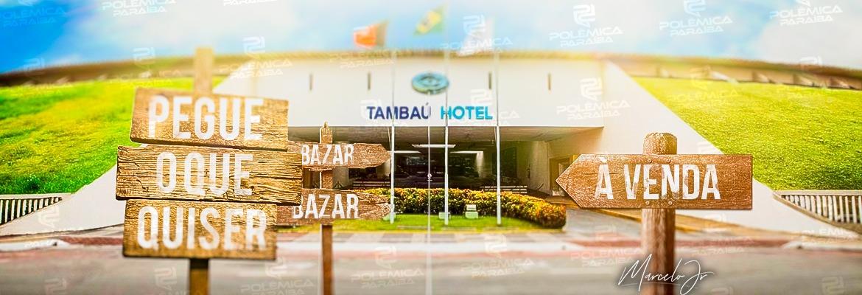 WhatsApp Image 2020 06 12 at 11.14.57 - PONTO TURÍSTICO VIROU BAZAR: 50 anos de história do Hotel Tambaú está sendo dilapidado e espólio é vendido em página da OLX - VEJA VÍDEOS