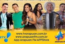 Reviver São João Pessoa: Sistema Arapuan transmite os melhores momentos de shows de grandes bandas de forró
