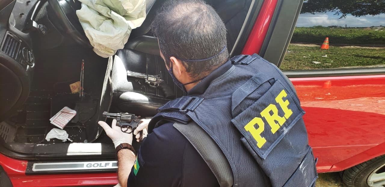 WhatsApp Image 2020 06 30 at 10.05.50 - Homem é preso com duas armas de fogo e veículo roubado, na Paraíba