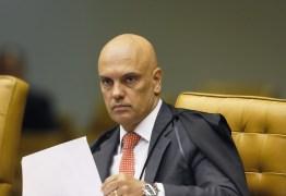 Moraes retira sigilo de decisão que autorizou operação contra atos antidemocráticos