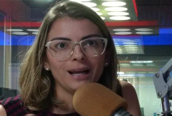 """amanda 556x375 1 - Presidente municipal do PSB em João Pessoa confirma que esposa de RC pode ser a candidata da sigla à PMJP: """"É um dos nomes discutidos"""""""