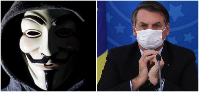 Grupo divulga dados sigilosos de Bolsonaro, dos filhos e de ministros