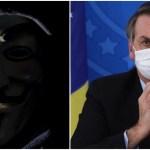 anonymous bolsonaro - Grupo divulga dados sigilosos de Bolsonaro, dos filhos e de ministros