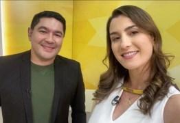 CASAL DE VOLTA AO VÍDEO? Bruno Sakaue na TV Correio abre especulações para uma posterior contratação de Patrícia Rocha