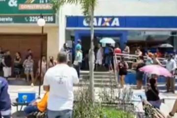 Idoso morre após passar mal em fila de banco em Mamanguape