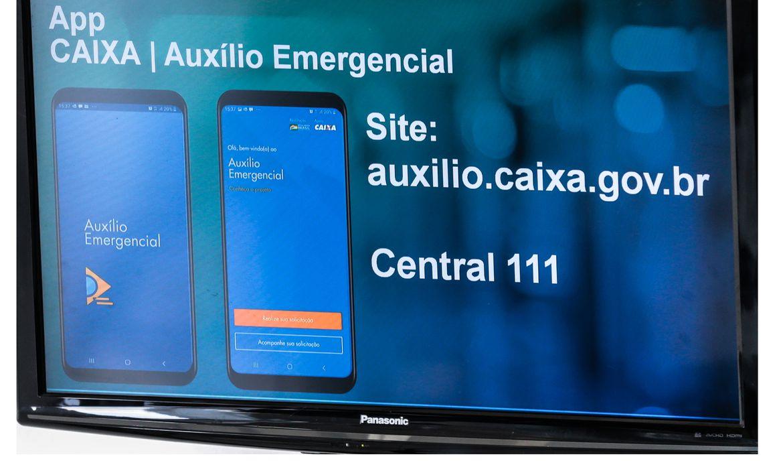 caixa app0407201709 0 - Caixa credita auxílio emergencial em contas dos beneficiários