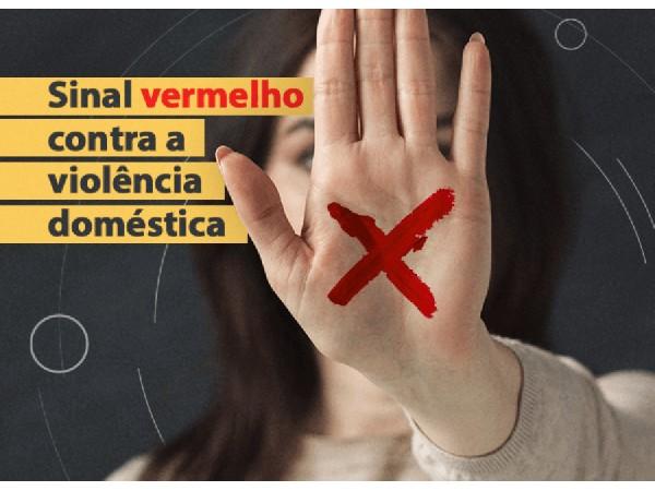 campanha sinal vermelho contra a violencia domestica - Campanha Sinal Vermelho contra a Violência Doméstica tem adesão de 224 farmácias na PB