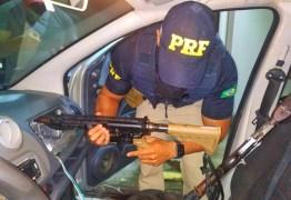 ARMAMENTO DE GUERRA: PRF na Paraíba prende dupla que iria para Campina Grande – VEJA VÍDEO