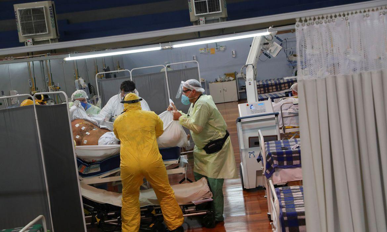 covid 19 - Brasil registra 1.209 mortes e 31.475 infecções de coronavírus nas últimas 24 horas