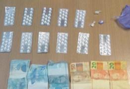 Suspeito de tráfico é preso com 160 compridos usados para 'boa noite, Cinderela'