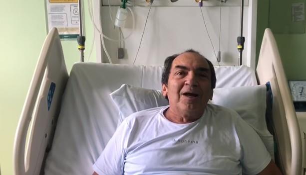empresário A Primavera - Empresário Joselito Gomes recebe alta após se recuperar de Covid-19: 'Saio com fé'