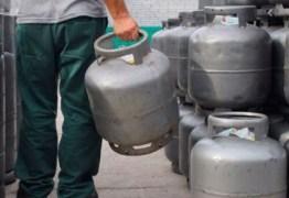 Reajuste de 9% no preço do gás de cozinha na PB começa a valer nesta terça-feira