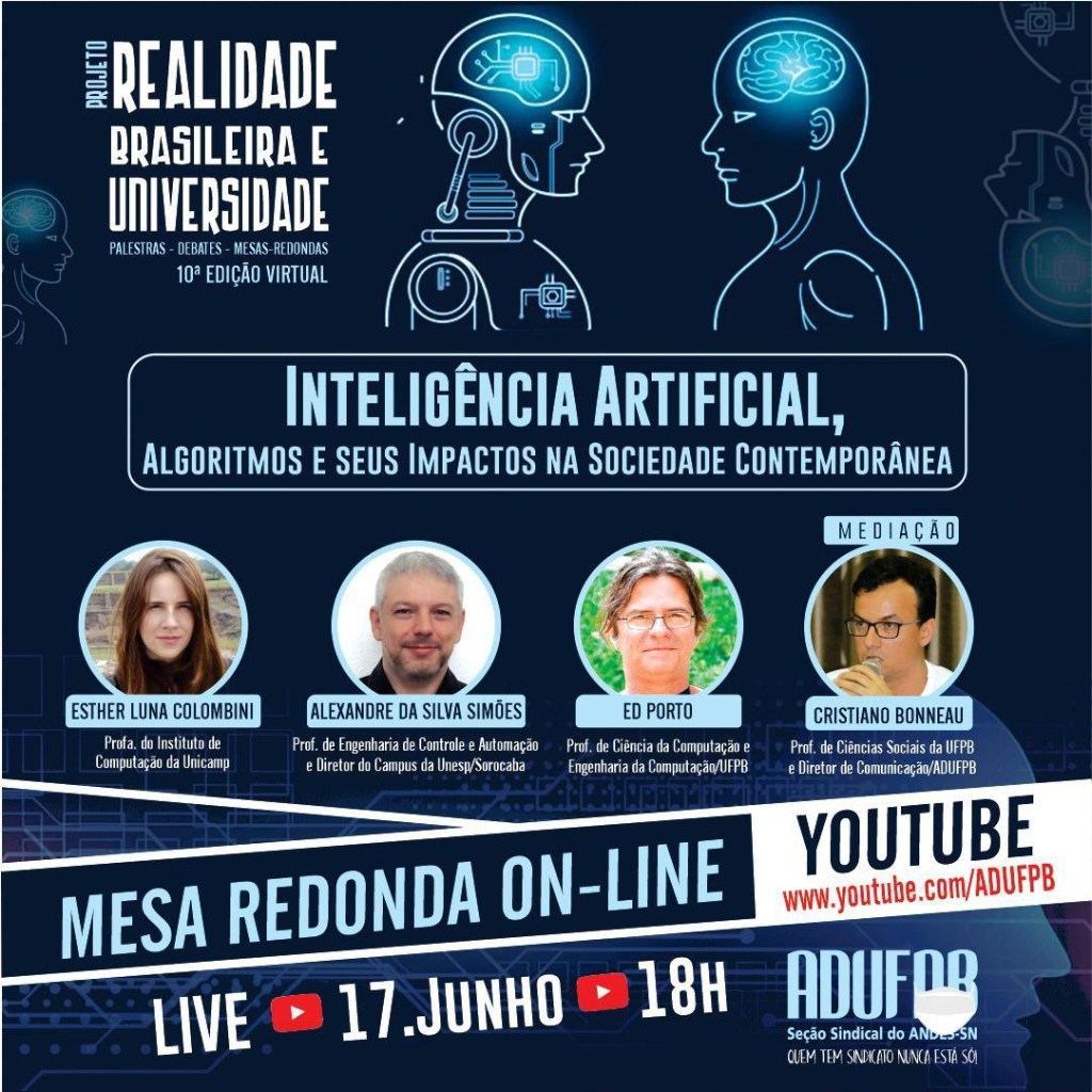 inteligencia artificial 1024x1024 - UFPB discute Inteligência artificial em debate online nesta quarta-feira