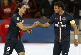 De saída do PSG, Cavani e Thiago Silva buscam seguir na Europa
