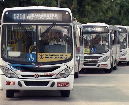 onibus 1 - Semob-JP retoma operação de mais cinco linhas aos domingos
