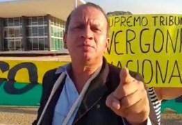 Polícia prende manifestante que atirou fogos em direção ao STF; VEJA VÍDEO