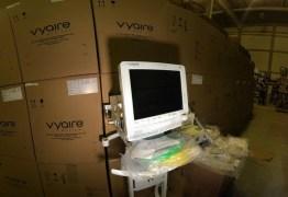Paraíba recebe 84 ventiladores pulmonares para tratamento de pacientes com Covid-19