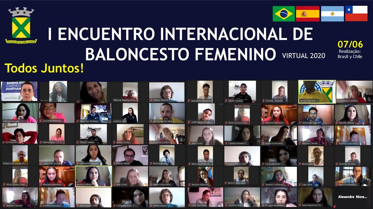 unnamed 5 - Objetivos alcançados no '1º Encontro Internacional de Basquete Feminino Virtual'