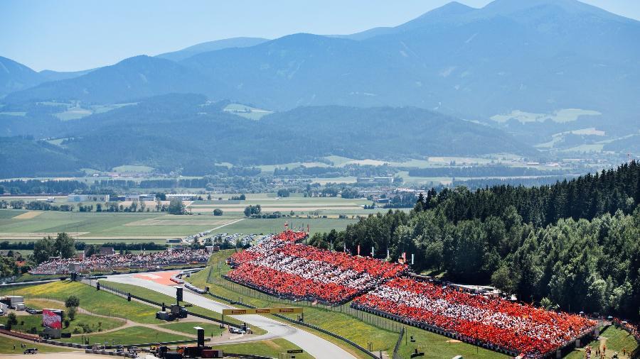 vista aerea do circuito de red bull ring 1587576219740 v2 900x506 - Fórmula 1 anuncia calendário com oito corridas para temporada 2020