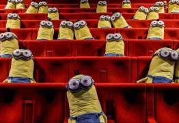 Cinema usa bonecos de Minions para garantir distanciamento social