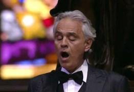 Andrea Bocelli volta atrás e pede desculpas após repercussão negativa de falas minimizando riscos da covid-19
