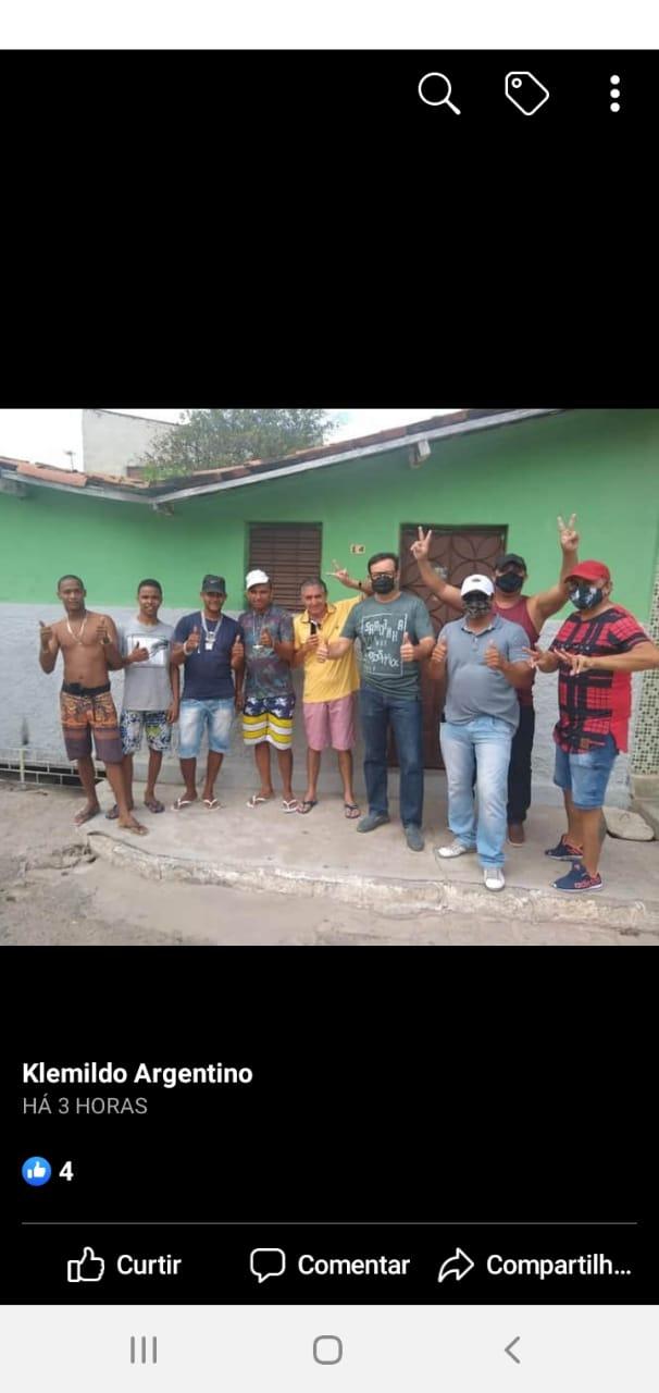82df64b3 e7f7 452f 882a 24bf0f031826 - Pré-candidato a prefeito de Patos, Dr. Ramonilson, faz campanha antecipada com direito a aglomeração e bebida alcoólica - VEJA IMAGENS