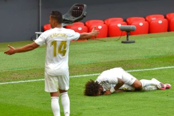 BB16ADuE 1 - Marcelo não jogará mais o campeonato espanhol após sofrer lesão
