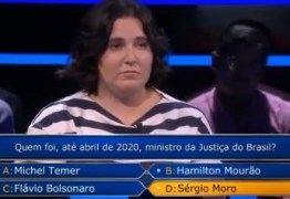 Mulher pede 'Fora Bolsonaro' em programa de TV de Portugal