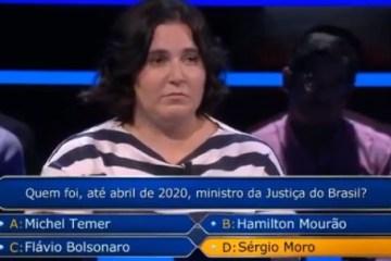 Capturar 9 - Mulher pede 'Fora Bolsonaro' em programa de TV de Portugal