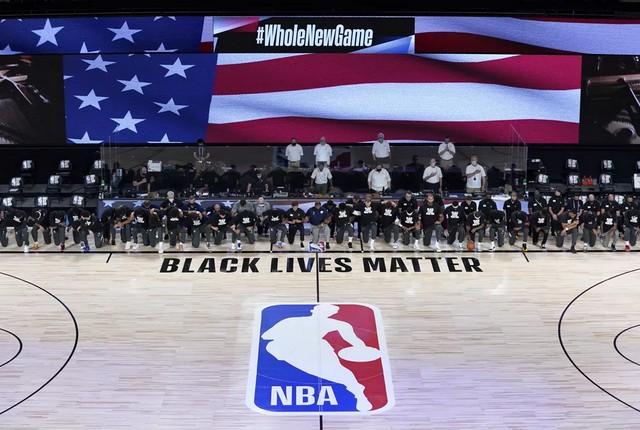 Capturarws - NBA recomeça nos EUA com protesto contra injustiça racial - VEJA VÍDEO