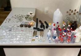 PM interrompe festa em Conde, prende três suspeitos e apreende armas e drogas