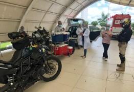 PRF na corrida contra o tempo para escoltar equipe médica com órgãos a serem transplantados em João Pessoa