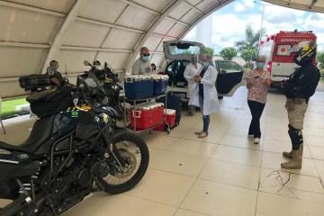 WhatsApp Image 2020 07 03 at 11.06.28 - PRF na corrida contra o tempo para escoltar equipe médica com órgãos a serem transplantados em João Pessoa