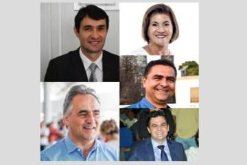 PESQUISA CONSULT / ARAPUAN: prefeitos paraibanos lembrados na lista de 'maiores lideranças' do estado