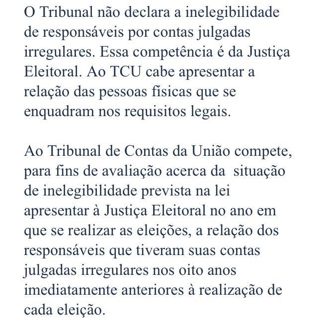 WhatsApp Image 2020 07 24 at 10.26.42 1 - 'SEM EFEITO SUSPENSIVO': TCU não decidiu sobre recurso e Cícero continua em lista de 'contas irregulares com implicância eleitoral'; LEIA NOTA